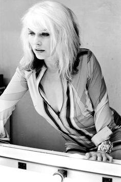Debbie Harry by Michel Haddi for Vogue UK London September 22 1994
