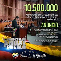 @FEdumedia : RT @ZE_Aragua: RT MBFAPURE1: Un líder que  hizo posible el sueño de los Venezolanos y hoy NicolasMaduro lo afianza #45MilMaestrosTitulares.