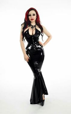 Rubber Queen  Latex by House of Harlot Lincs Alternative Imaging.