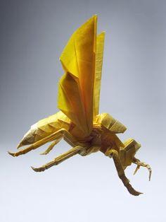 Origami bug.