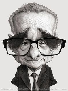 Martin Scorsese by Thierry Coquelet