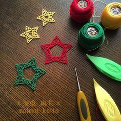 tatting lace stars                                                                                                                                                                                 More