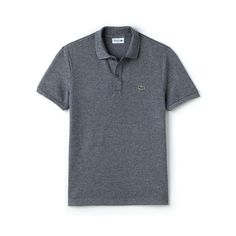 A seasonal wardrobe essential, this polo is crafted in signature Lacoste cotton petit piqué. Perfect with cotton canvas chino pants and a pair of sneakers from the collection.
