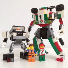 AUTOBOTS! Based on existing LEGO cars (Emmet's and Octan race car) and inspired by g1 Transformers