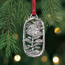 Tree and Moon Ornament- National Wildlife Federation.Tree planted for each ornament purchased.