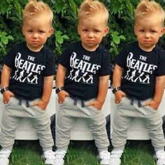 2PCS-Causal-Kids-Baby-Boy-Clothes-T-Shirt-Trousers-Sports-Pants-Outfit-2-6Y