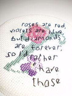 A Modern Day Love Poem..? by Jamie Chalmers aka Mr X Stitch