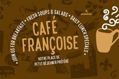 Café Françoise by sharkshock on Envato Elements
