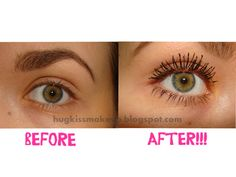 Hug, Kiss, Makeup!: Perfect Mascara Combination: length and volume!