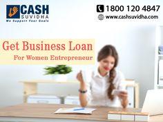 Cash Suvidha offer Easy Business Loan for Women Entrepreneur #EasyBusinessLoan #LoanforWomenEntrepreneur Follow us on Twitter: twitter.com/CashSuvidha Apply Now: www.cashsuvidha.com   1800 120 4847