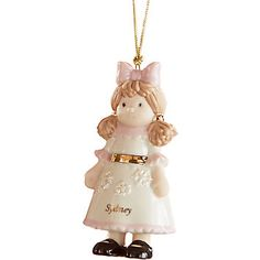 My Very Own Doll Ornament by Lenox
