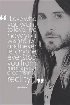 Jared's absolutely beautiful words ,used in his acceptance speech at the MTV MOVIE AWARDS 2014 !