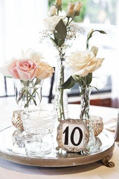 The Conservatory at Waterstone | Acworth, GA #centerpiece #flowers #wedding