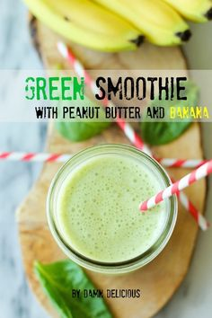 Looks like blended veggies, tastes like your favorite PB and banana snack.