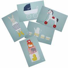 Image of Assortiment de 10 cartes cadeaux
