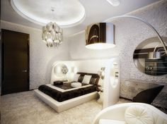 Luxurious Vintage Modern Bedroom