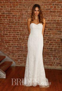 Brides.com: David's Bridal - Spring 2015. Wedding dress by David's Bridal