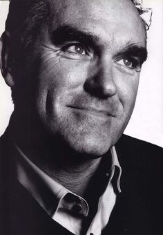 (Steven Patrick) Morrissey - English singer and lyricist. He rose to prominence in the as the lyricist and vocalist of the band the Smiths. Photo by David Bailey, 2004 David Bailey Photography, The Smiths Morrissey, Johnny Marr, Charming Man, Music Icon, Famous Faces, Will Smith, Black And White Photography, Pop Culture