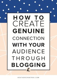 Blogging can certain