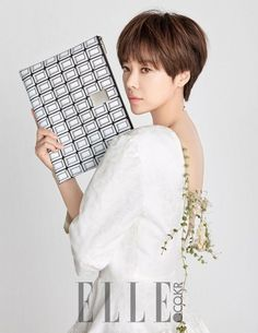 Hwang Jung Eum Endorses Couronne in Elle Magazine | Koogle TV