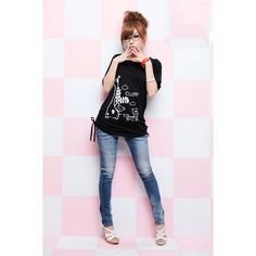 Casual Style Solid Color Cute Fawn Pattern Short Sleeve Cotton Blend Plus Size T-Shirt For Women (BLACK,2XL) China Wholesale - Sammydress.com