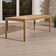 Regatta Extension Dining Table | Crate and Barrel