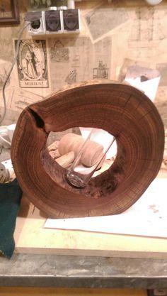Wood vase Wood Vase, Serving Bowls, Woodworking, Tableware, Wooden Vase, Dinnerware, Dishes, Woodworking Crafts, Joinery