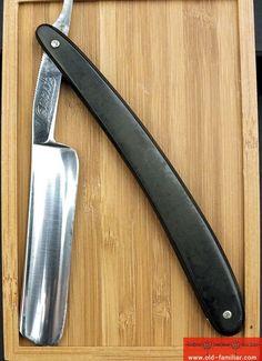 Quast Solingen Rasiermesser ,straight razor, coupe choux,