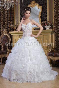 Sexy ball gown wedding dress——Gloriasbridal