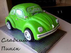 Birthday Cakes carro volkswagen