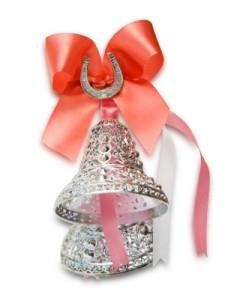 """""""I can hear the bells...""""  Wedding superstition follows the thought that the bells would scare off evil spirits intent on ruining the new couple's happiness. The bells were thought to bring luck and fortune to the newlyweds."""