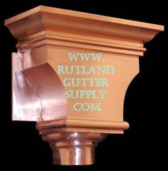46 Best Gutters Scuppers Amp Downspouts Images Rooftops