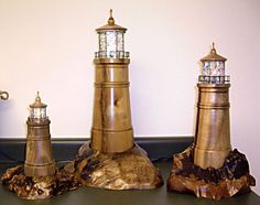 turned wooden lighthouse - Pesquisa Google
