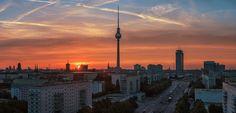 https://flic.kr/p/yQcaVf   Berlin - Skyline Sunset Panorama Strausberger Platz   © by Jean Claude Castor l 030mm - Photography  Berlin, Skyline, Strausberger Platz, Panorama, 2015  www.030mm-photography.com  www.facebook.com/berlin.030mm-photography/