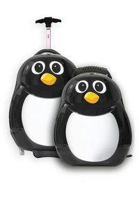 Deze set van Peko de Pinguïn tovert een glimlach op je gezicht. Word verliefd. De trolley en rugzak zijn zeer stevig en daardoor ideaal om mee te nemen op vakantie.