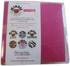 Minkee Blankee Brights Charm Pack from Missouri Star Quilt Co