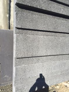concrete with a basalt aggregate that Charlie liked