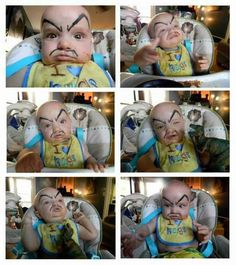 Drawing Eyebrows and a Mustache on Your Baby is The Best Thing You Can Do For it