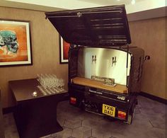 Prosecco Van for hire. Our Fizz Van ready for the Work+Play launch at the Malmaison in Manchester.  Perfect for weddings, parties, corporate events & festivals.