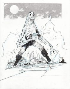 Abe Sapien by James Harren.