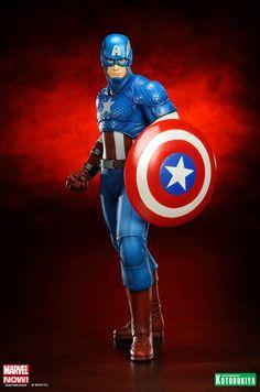 New Images: Marvel Comics Captain America Avengers Now ARTFX+ Statue