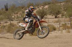 Ivan Ramirez powers the KTM machine in this year's Baja 500