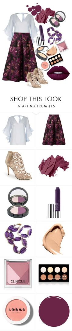 """""""Untitled #30"""" by erinlynch-i on Polyvore featuring River Island, Miss Selfridge, Klub Nico, Bobbi Brown Cosmetics, Clinique, Nvey Eco, Tom Ford, NYX, LORAC and Lime Crime"""