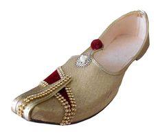 cf5bee6fb6c48 Jutti Men Shoes Ethnic Groom Mojari Loafers   Slip Ons Indian Handmade US 6- 12
