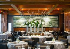 Eleven Madison Park: A New York, NY Restaurant. Known for American. Restaurant New York, Fun Restaurants In Nyc, Best Seafood Restaurant, Restaurant Design, Restaurant Interiors, Manhattan Restaurants, Seafood Menu, Easy Restaurant, Restaurant Concept