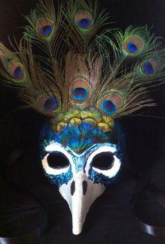 Peacock / Venetian Specialty Custom Animal Mask