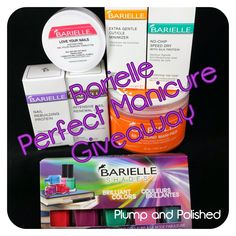 Check out this giveaway!  http://www.plumpandpolished.com/2014/08/barielle-perfect-manicure-and-giveaway.html