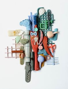 Plastic art by Judith Selby Lang &   Richard Lang