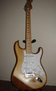 My refinished Fender Strat.