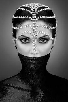 beautiful head piece #mask #sexy #photography